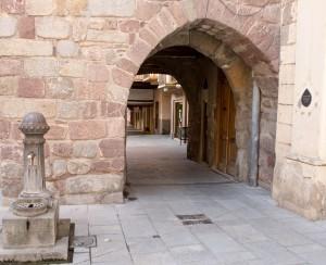 Portal de Andorra. Murallas